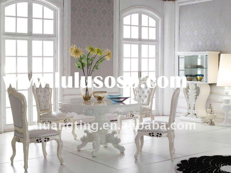 2012neoclassic round dining table/ palace royal furniture/ high-end luxury furniture
