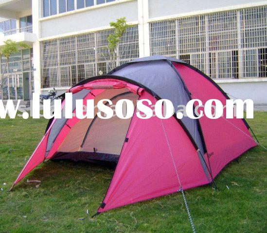 2-3 person fun pink outdoor camping tent