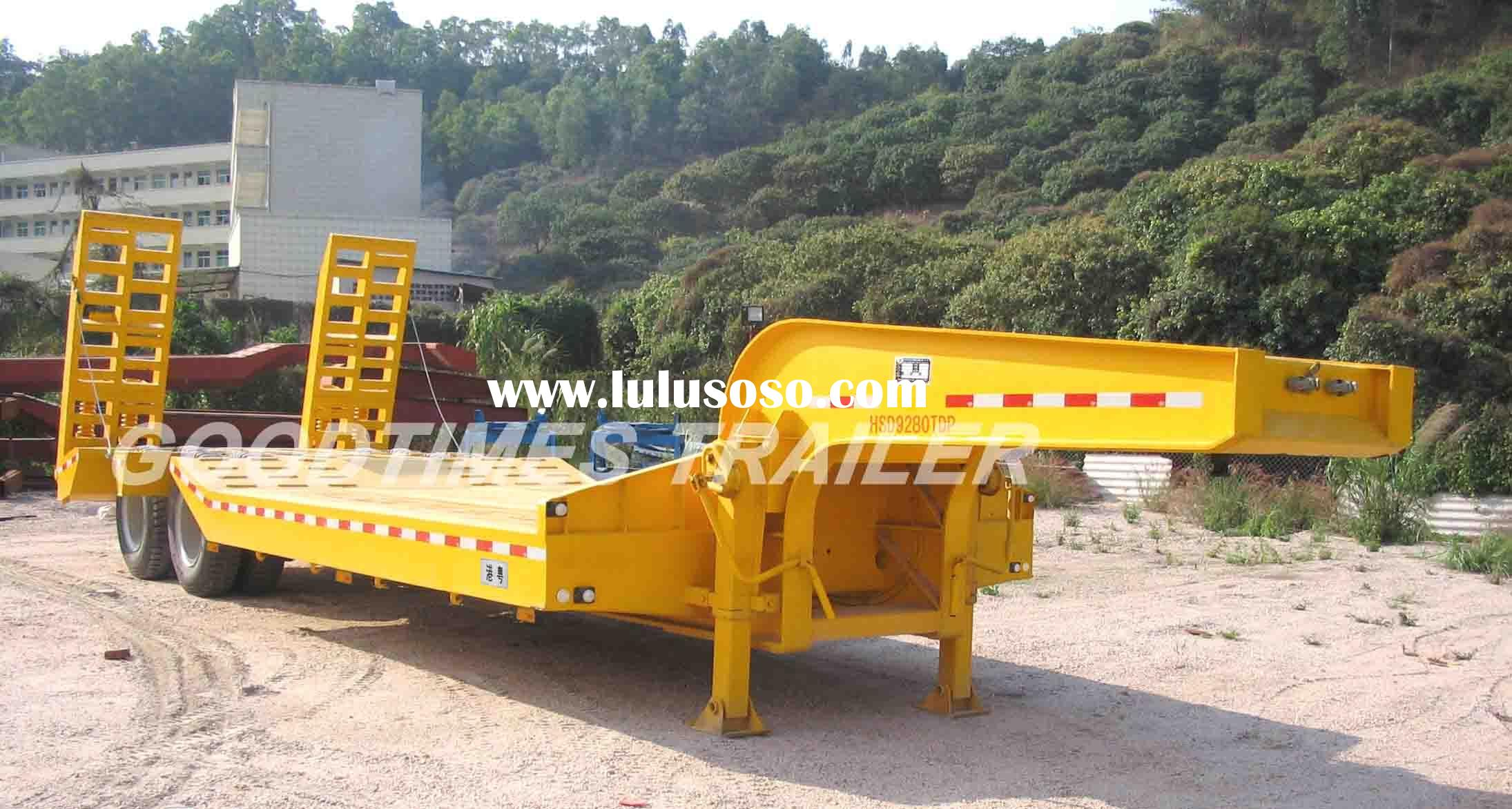 2 axle Lowbed trailer