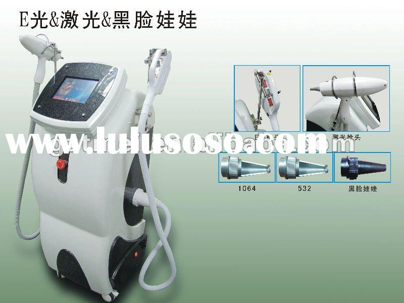 3 handles ipl laser hair removal machine for sale
