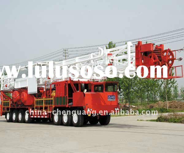 4000M oil well truck mounted drilling rig