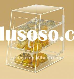 Acrylic Bakery Display Case, Acrylic Food Display,Plexiglass Bakery Stand,Lucite Candy Holder