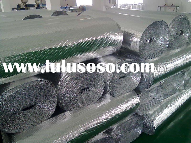 Aluminum foil bubble heat insulation material