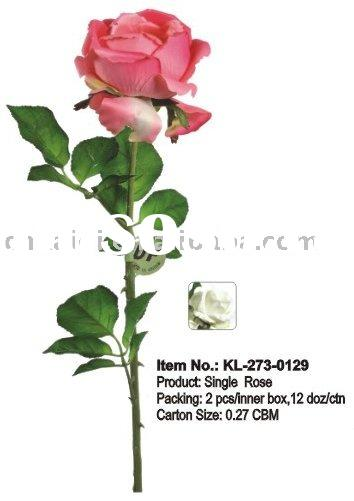 Artificial Flower,Single Rose