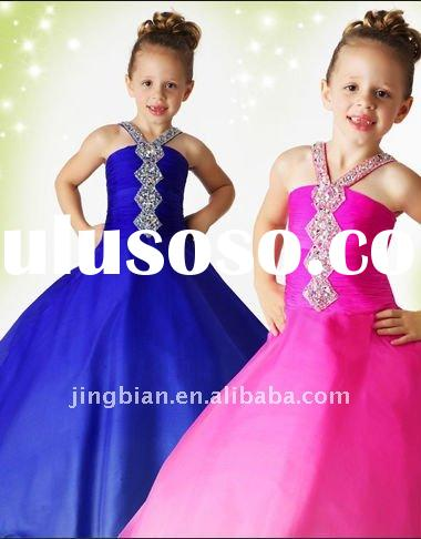 Cute Girls Party Dresses 2012 Flower Girl Dress Baby Girls Dresses GD43