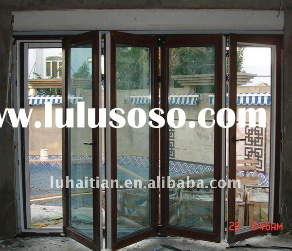 European style pvc revolving doors manufacturer in China