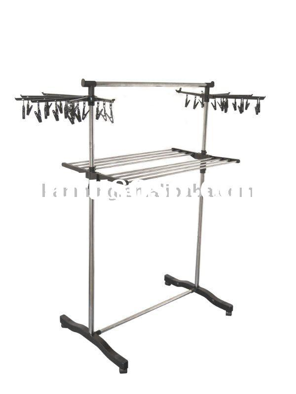 FD-7518 metal wrought iron garment clothes rack