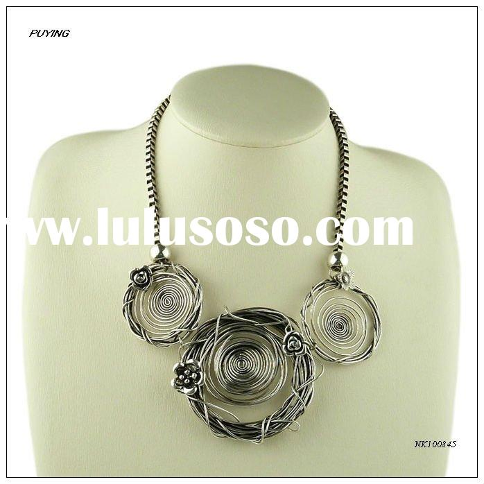 Fashion Handmade Zinc Alloy Necklace, Fine New Arrivals Accessory