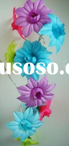 Flower string lamp for wedding decoration