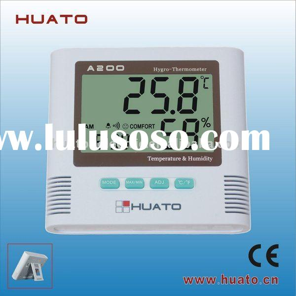 Green House,food,pharmaceutical factory use Indoor,Outdoor Hygro-thermometer A200