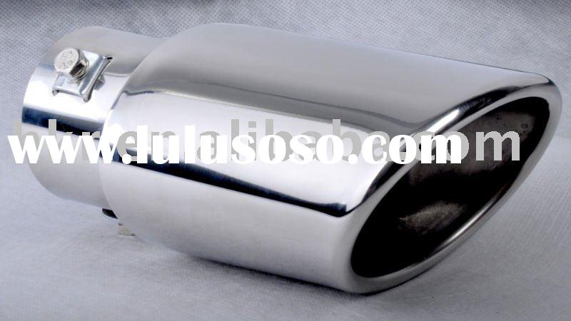 HKR car stainless steel exhaust pipe tip alum muffler tail pipe tip alum exhaust tip