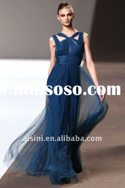 Hot sale Elie Saab exquisite style evening party dresses manufacturers YQ-1453