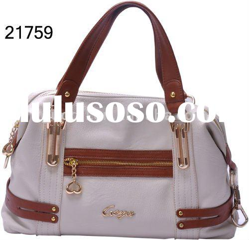 Hot sales 2012! The SUMMER fashion and new design ladies PU handbags