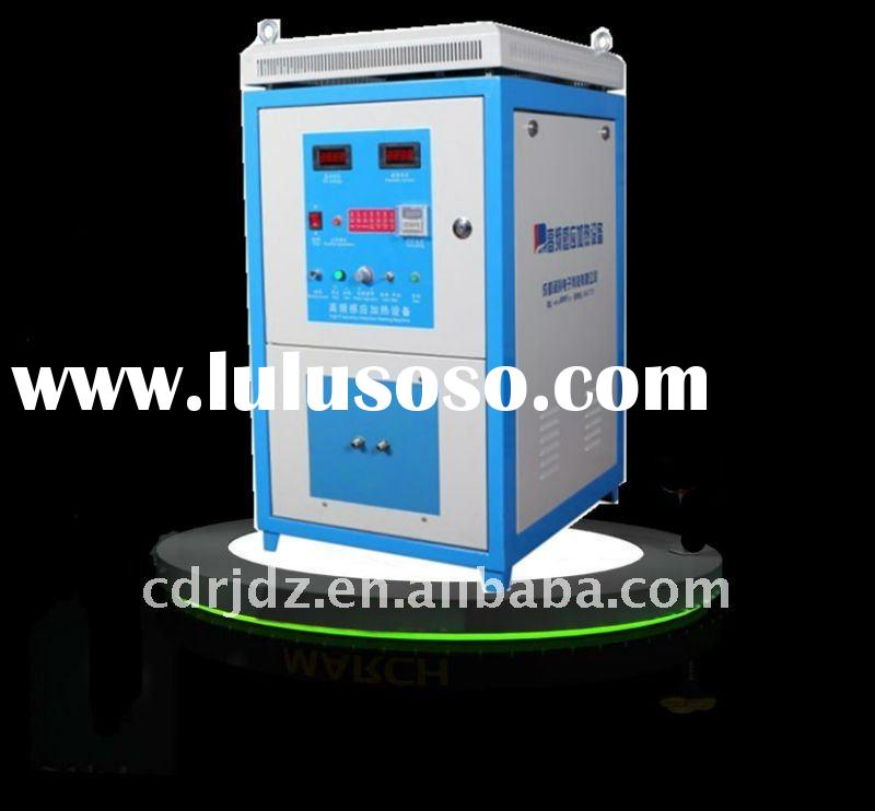 Induction heating machine for metal forging
