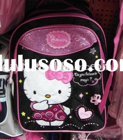 Power seller + hello kitty school bag backpack children school bag A1239 wholesale