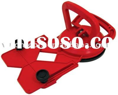 Suction cup, drill guider, diamond hole saw