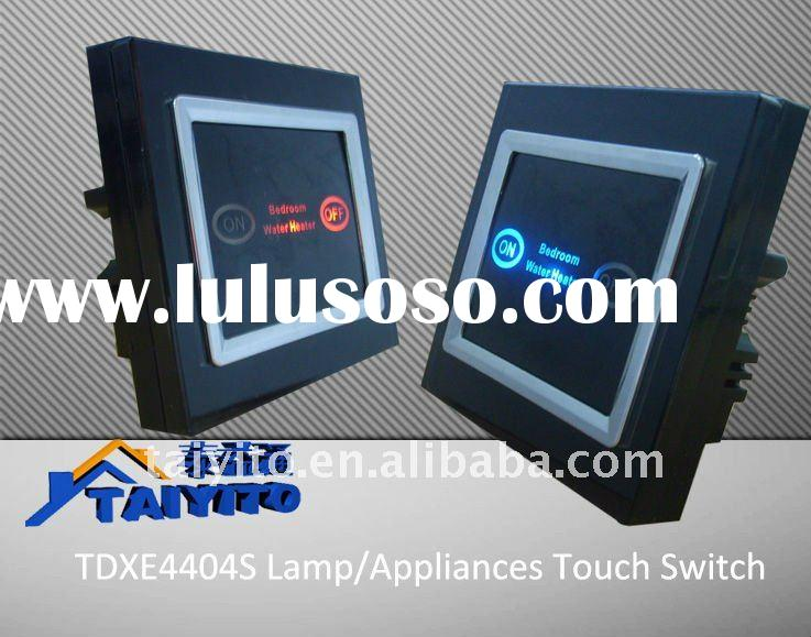 TDXE4403S Touch Screen Fluorescent Lamp Switch/wall Appliance Switch Touch Switch