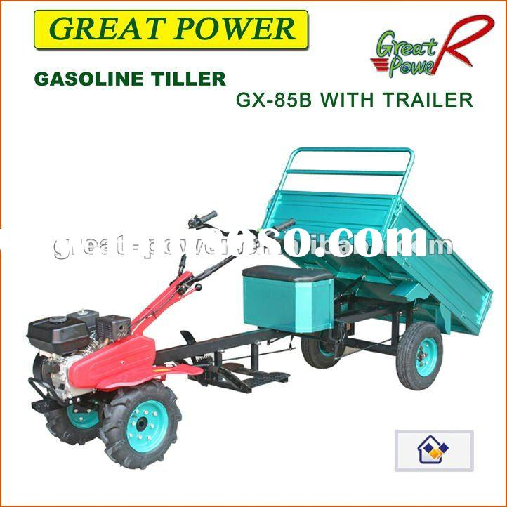 Tractor Tiller 1GX-85B ( with trailer) Farming Equipment Agricultural Tools And Uses