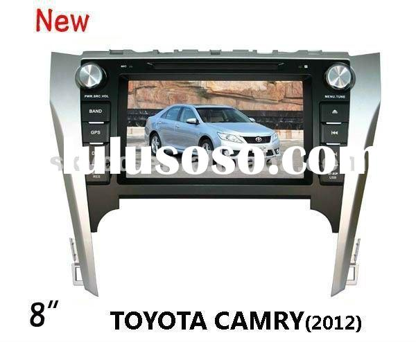 "(Toyota CAMRY 2012) 8"" HD digital TFT auto DVD gps player, with TV,radio, bluetooth"