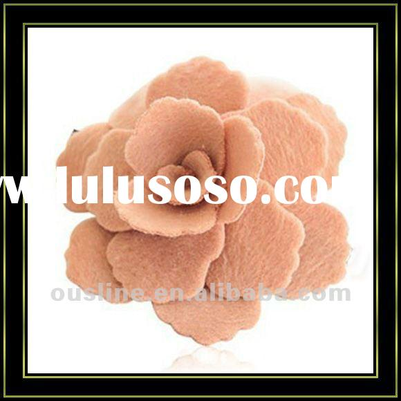 artificial flower for headband,felt flower,decorative artificial flower