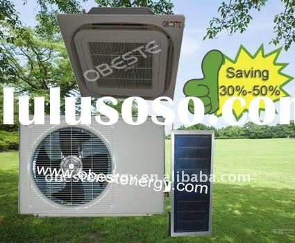 box shape flat panel solar air conditioners(cooling only)