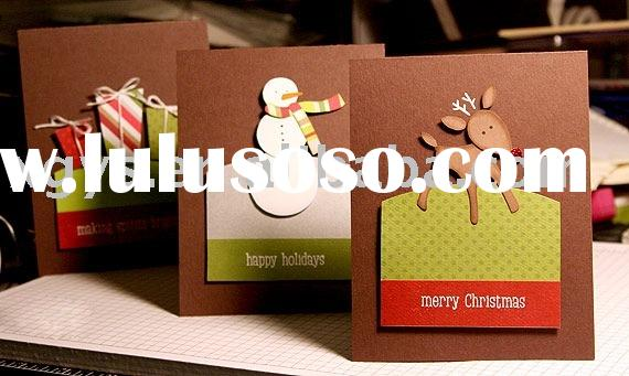 christmas card/paper card/paper craft/handmade card