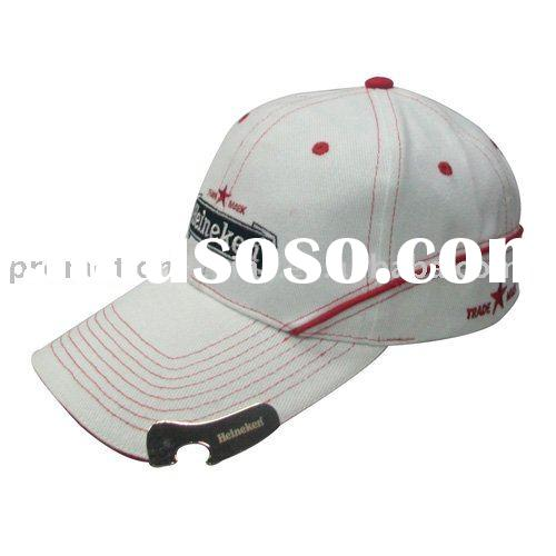 custom promotions bottle opener baseball cap