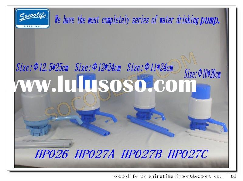 drinking water pump,hand press water pump,manual bottle water pump
