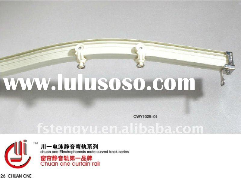 hospital aluminium ceiling curved curtain track