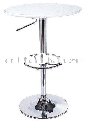 modern plastic Height-adjustable bar table
