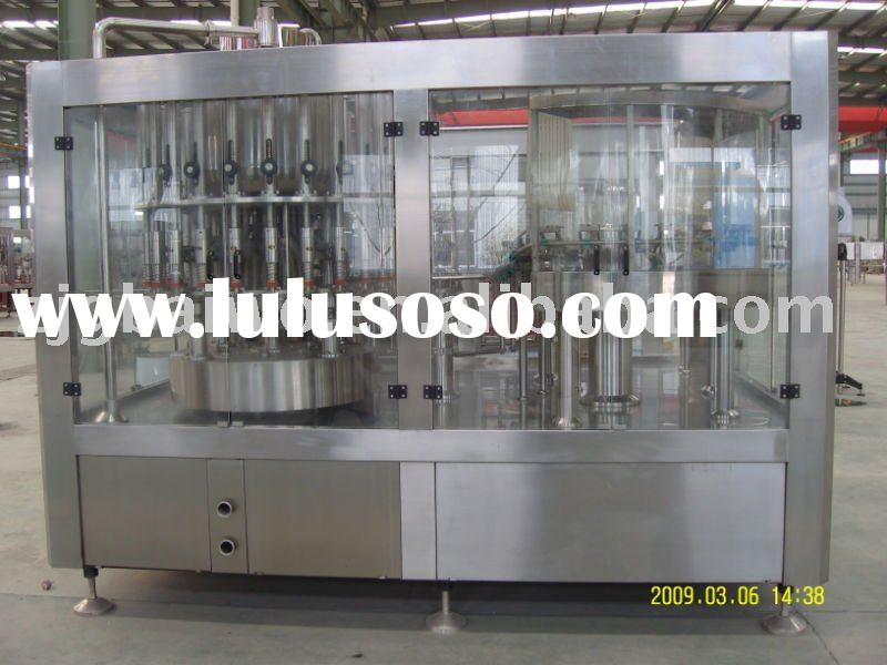 pet bottle juice water carbonated drink filling line beverage bottling machine