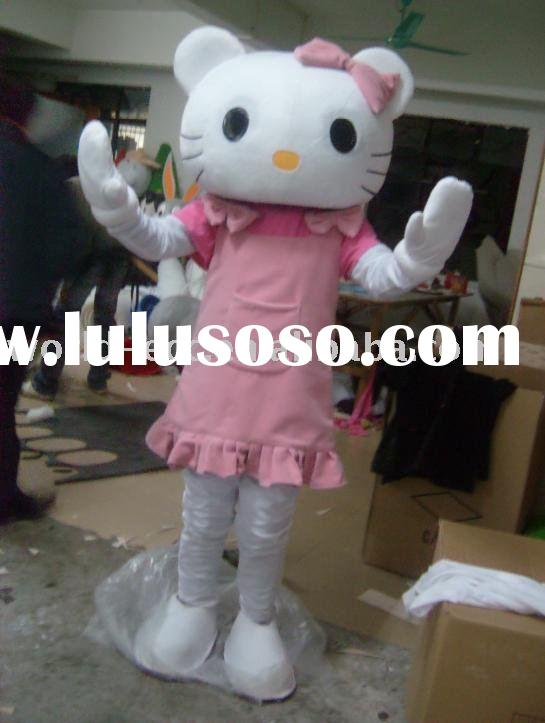 popular Hello-kitty costume ,carnival dress,fancy costume