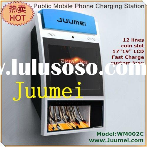 public mobile phone charging station mobile phone charging kiosk public cell phone charging station
