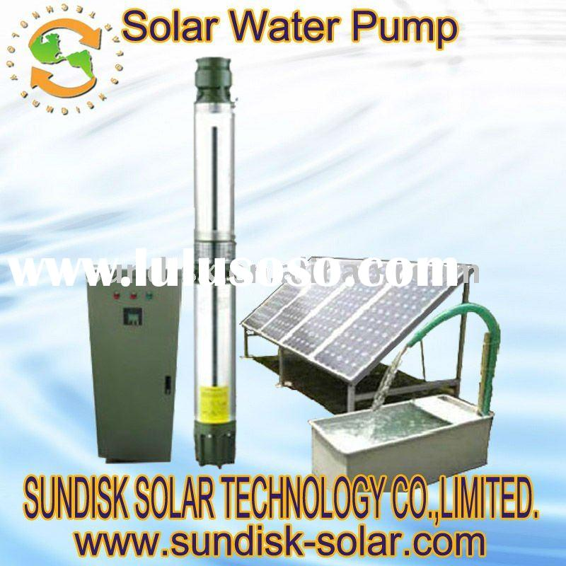 sdw-a200 deep well solar water pump