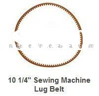 sewing machine parts Sewing Machine Stretch Belt Sewing Machine parts Lug Belt 10 1/4""