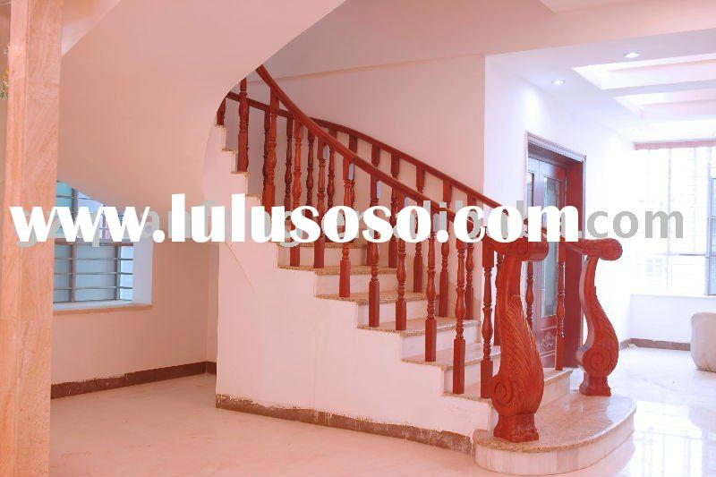 solid wood stair railing parst,stair newel,stair baluster