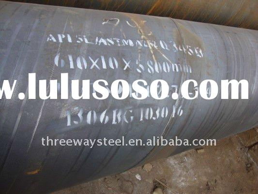 tubular steel pile for structure