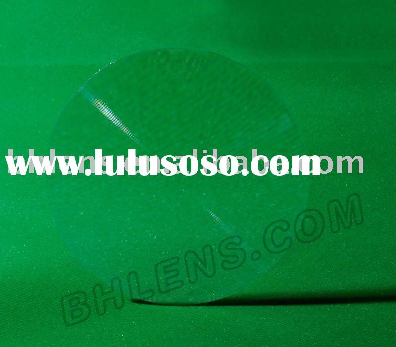 2011 HOT high quality low price PMMA Standard Fresnel Lens
