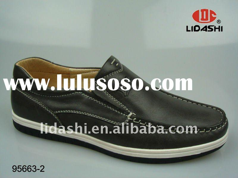 2011 New China Product Leather Shoes Casual Mens
