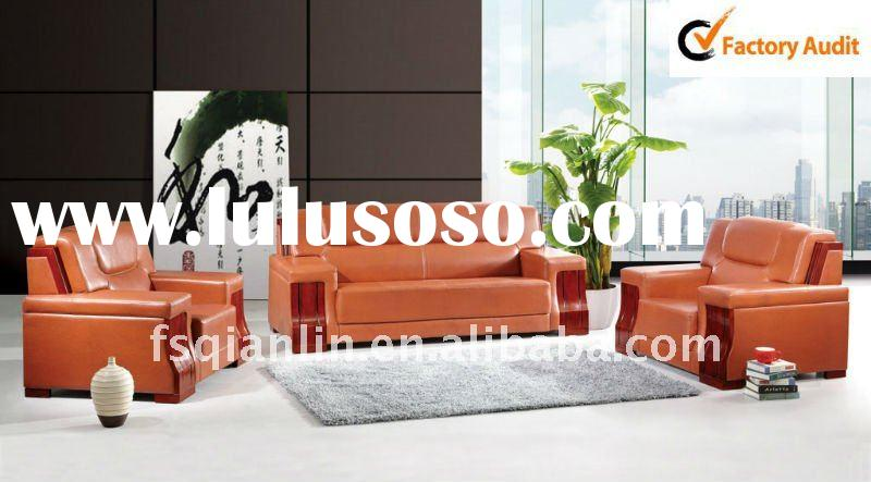 2011 office leather sofa