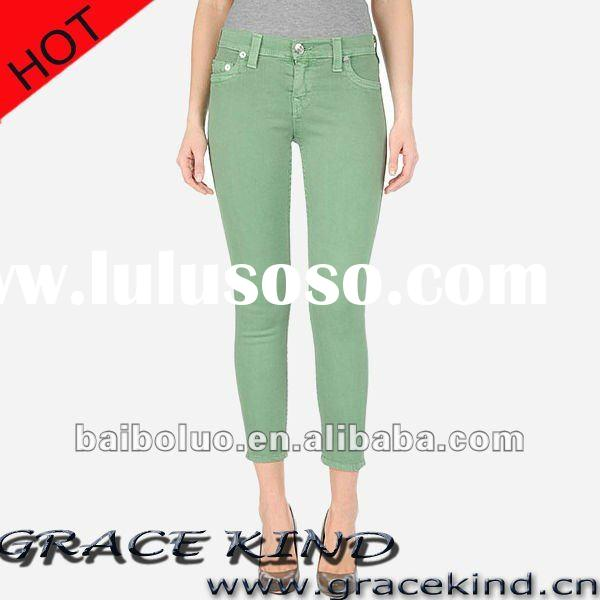 2012 Fashion Designer Women Jeans ,Brand Denim Jeans for Women(GKMJ022202)