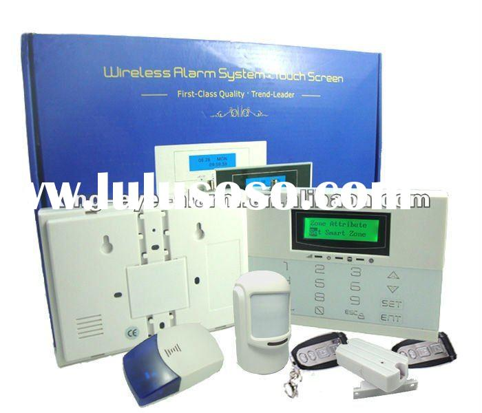 2012 Promotion Sales! Intelligent Wireless GSM Home Security Alarm System With LCD Display KI-G70W