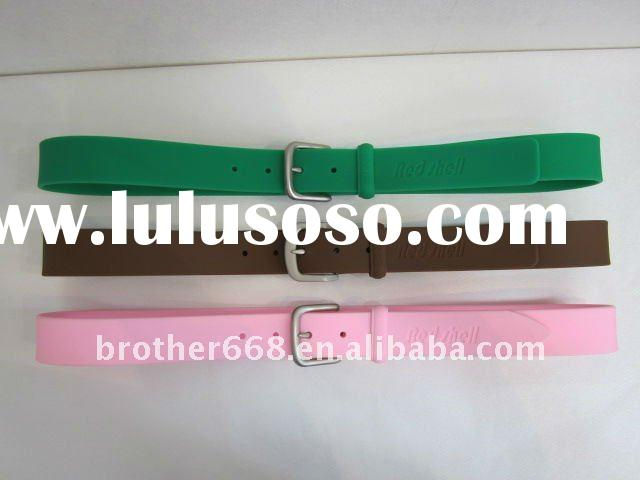2012 hot selling silicone waist band for lady and men