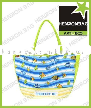 2012 new sea wave starfish beach euro tote bag for promotion bag/shopping bag/gift