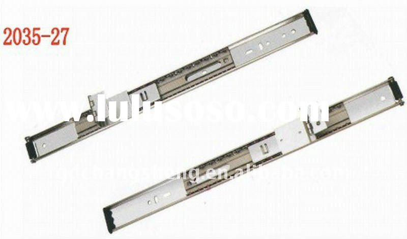 Foshan professional factory ball bearing flipper door drawer sliding rail
