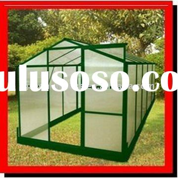 GRACE Hobby Greenhouse garden shed sun house, glass greenhouse, plastic greenhouse, pc greenhouse