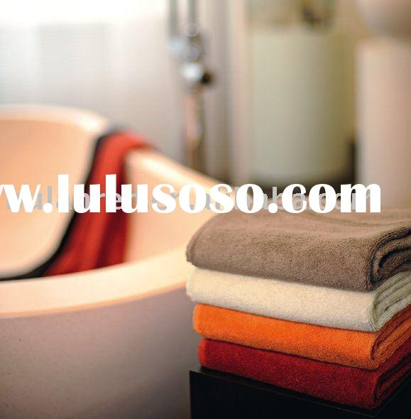 High quality luxury printed bath towel