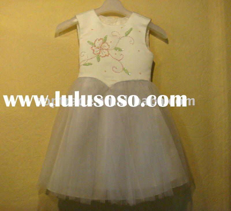 Hot sale! 2012 newly elegant flower girl dress