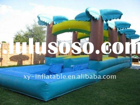 Jungle Inflatable slip and slide pool