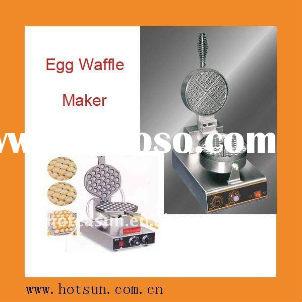 New Gas Tabletop Egg Waffle Maker Machine With Recipe